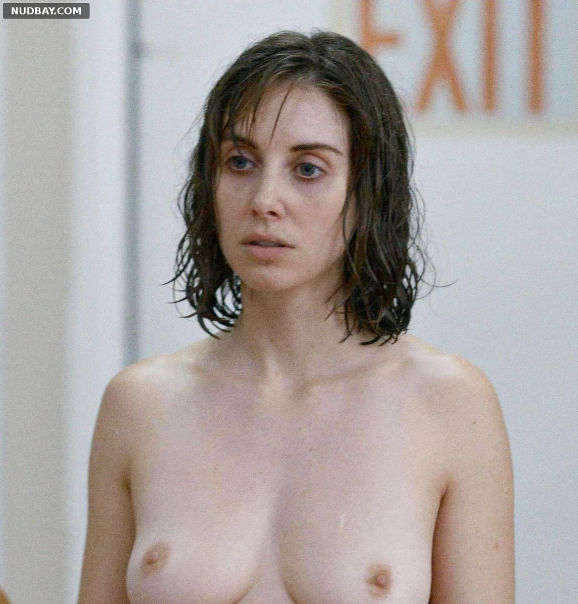Alison Brie nude in Horse Girl