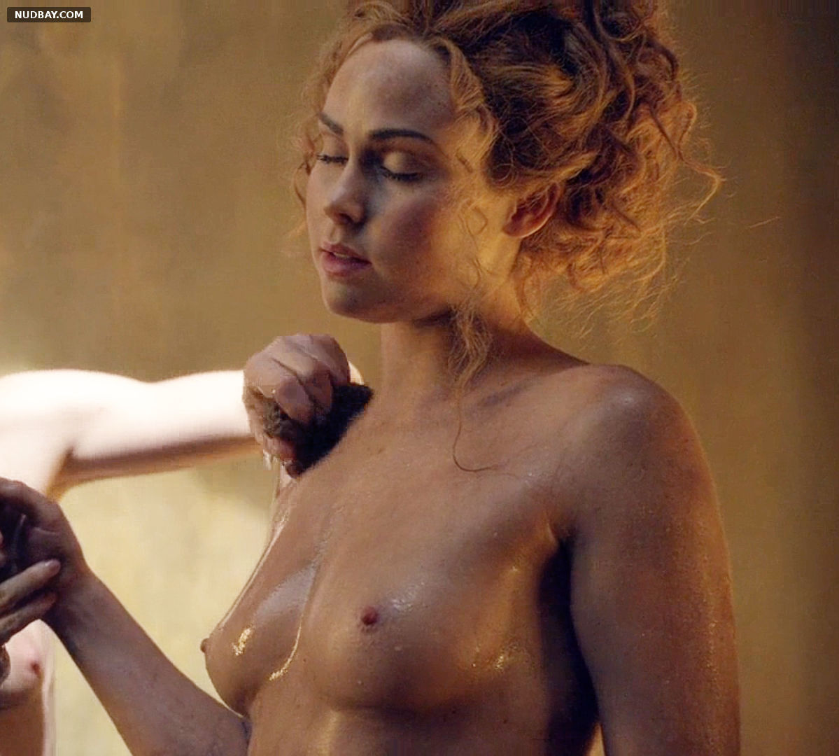 Anna Hutchison Nude in Spartacus S03E06