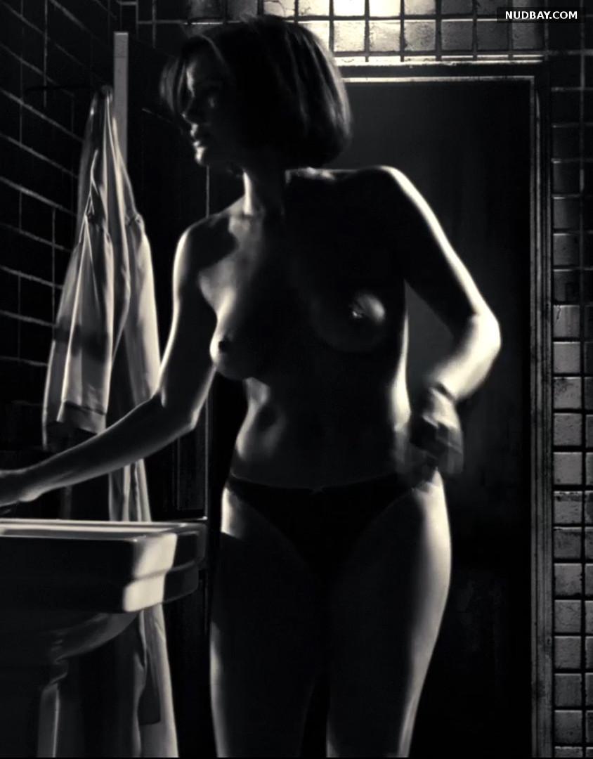 Carla Gugino nude in Sin City