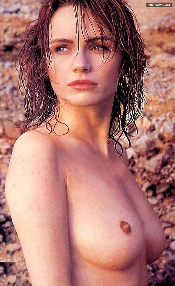 Francesca Neri nude in photoshoot