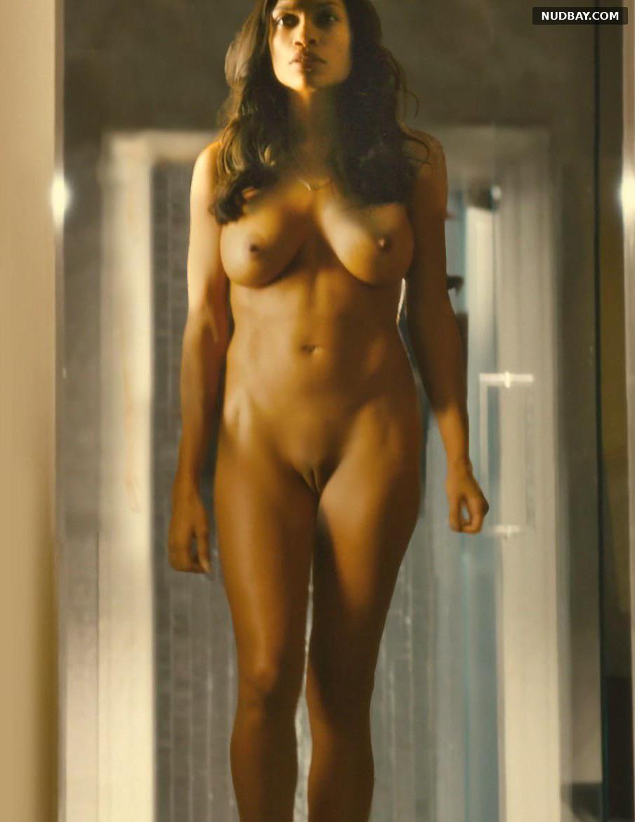 Rosario Dawson Nude Pussy in Trance