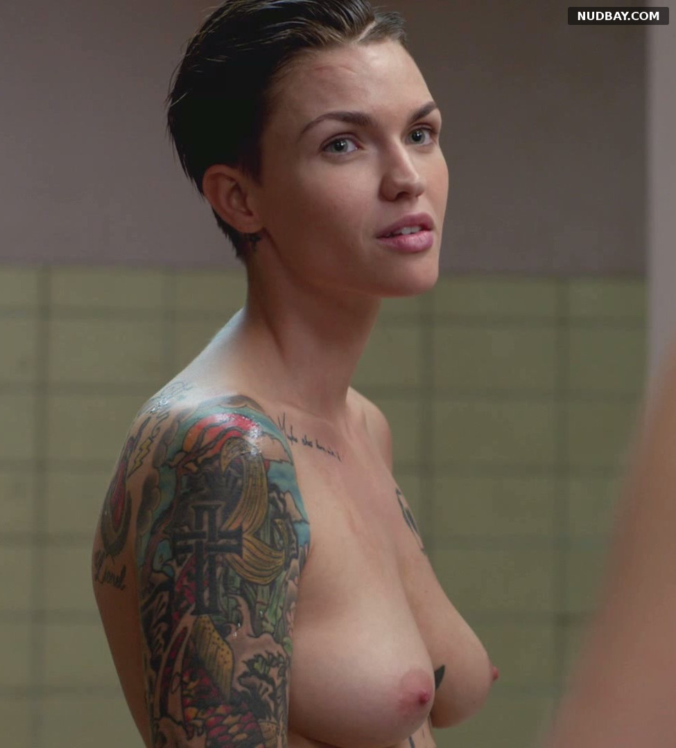 Ruby Rose Nude in Orange Is the New Black