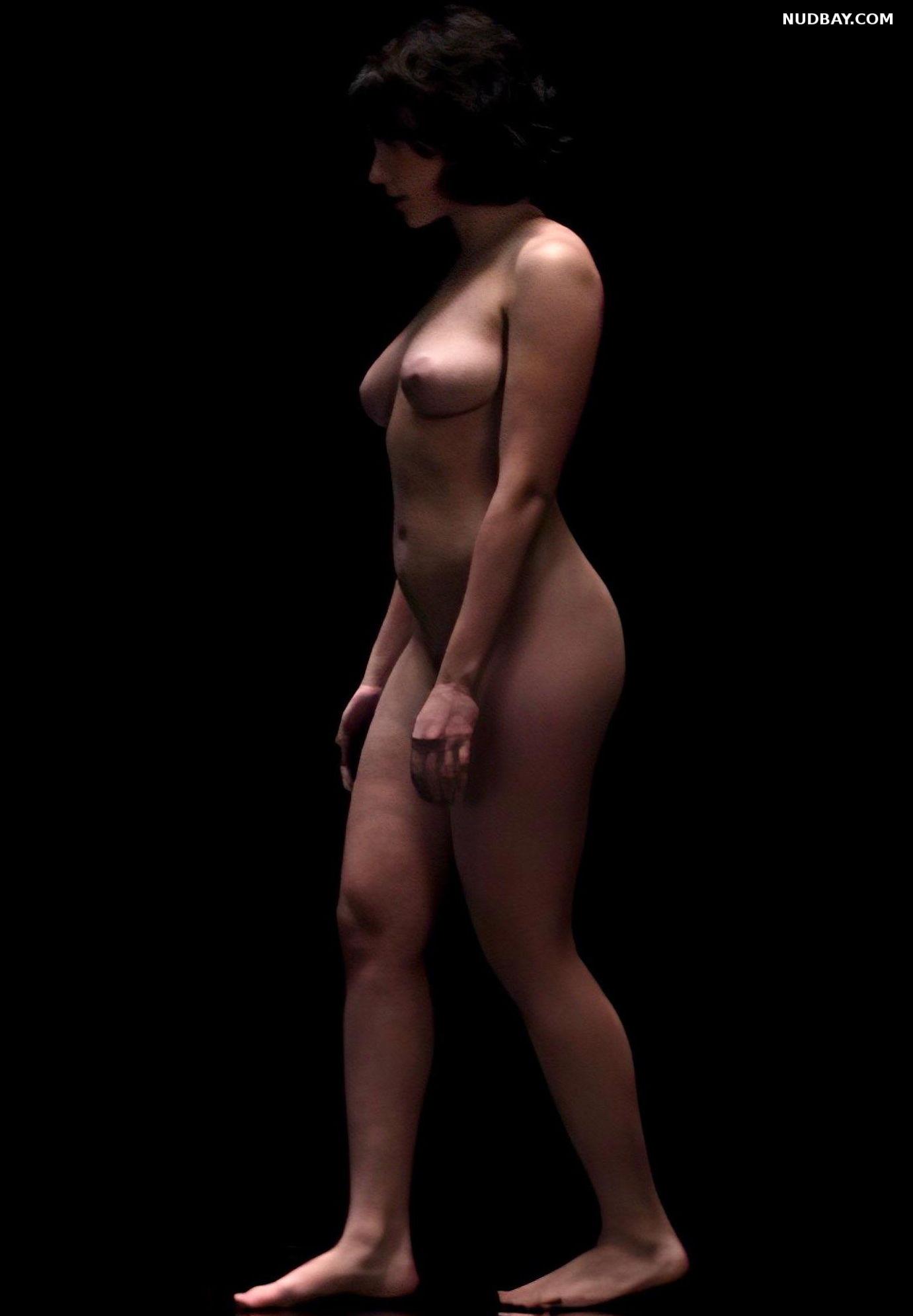 Scarlett Johansson nude in Under the Skin
