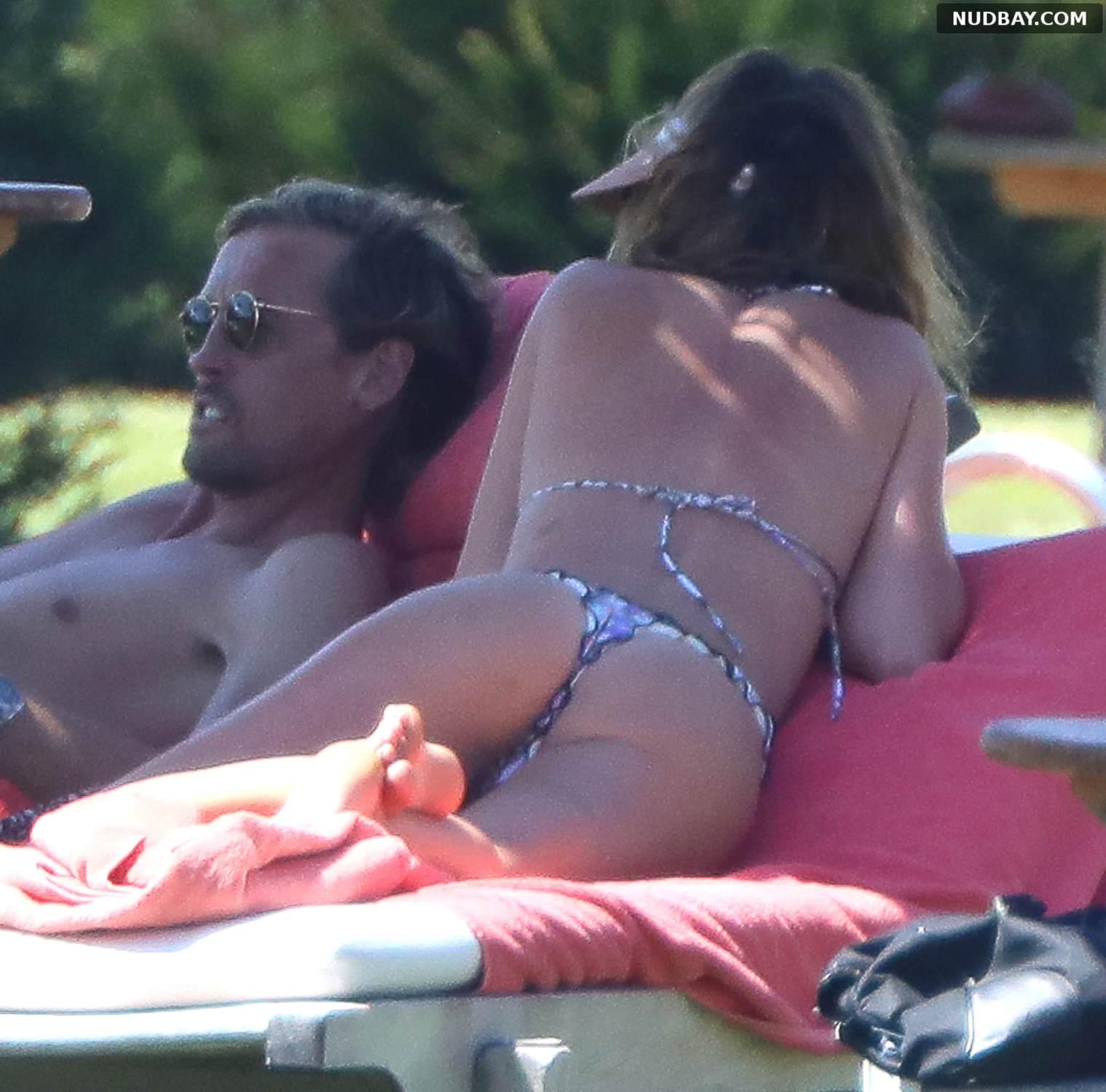 Abbey Clancy in bikini ass