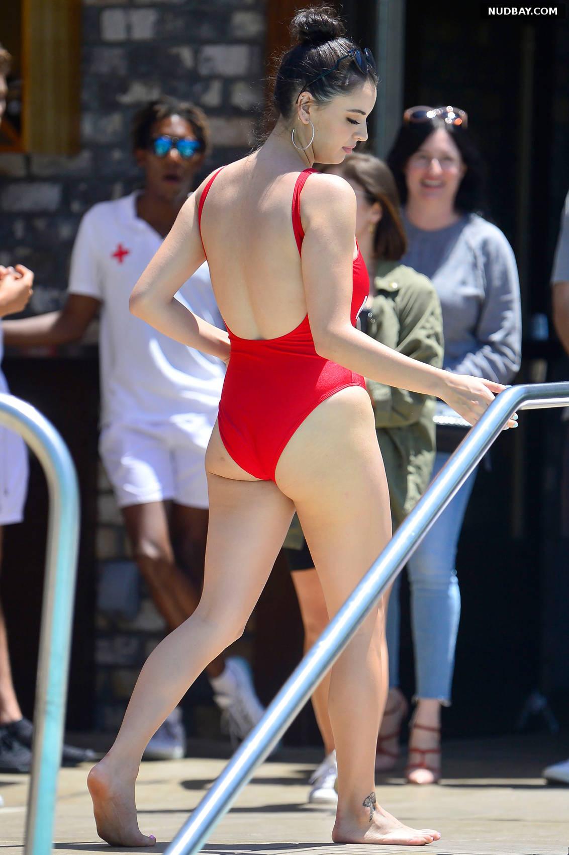 Rebecca Black ass in bikini