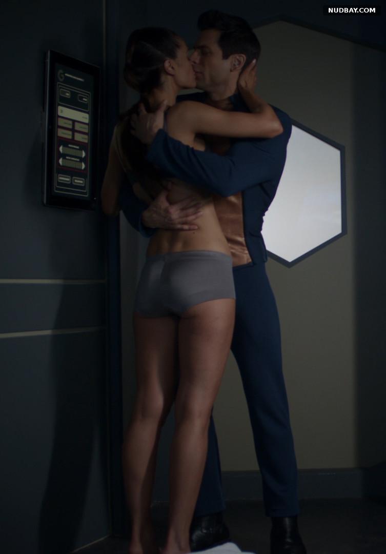 Christian Pitre ass in Beyond the Trek aka Teleios (2017)