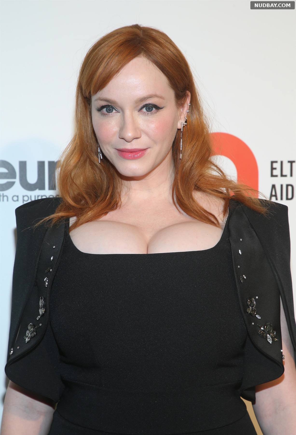 Christina Hendricks Elton John AIDS Foundation Oscars Viewing Party in West Hollywood
