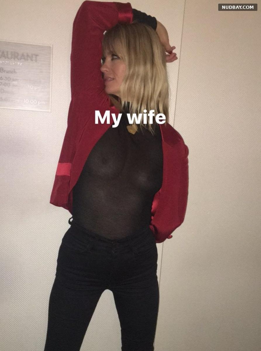 January Jones See-through boobs