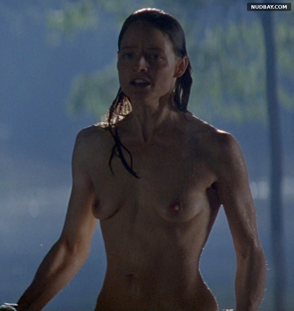 Jodie Foster nude in Nell (1994)