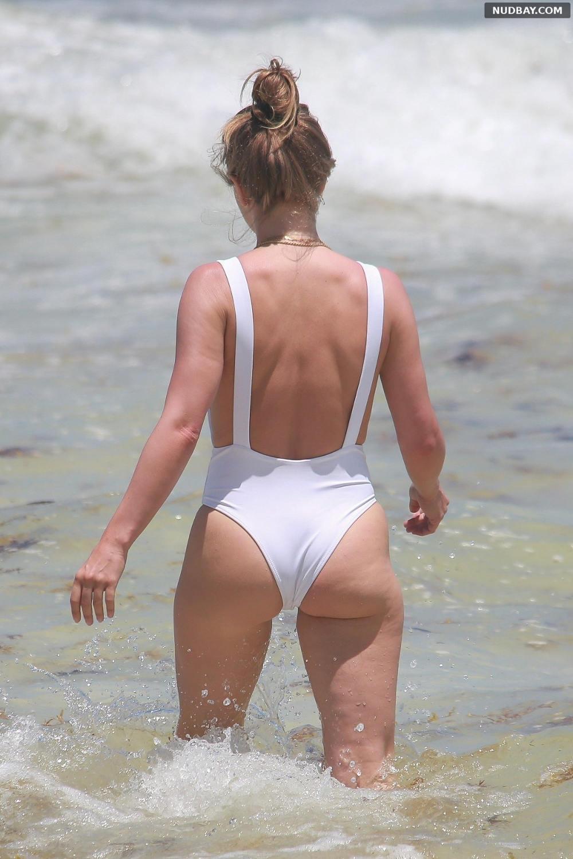 Julianne Hough ass on the beach in Tulum Apr 29 2021