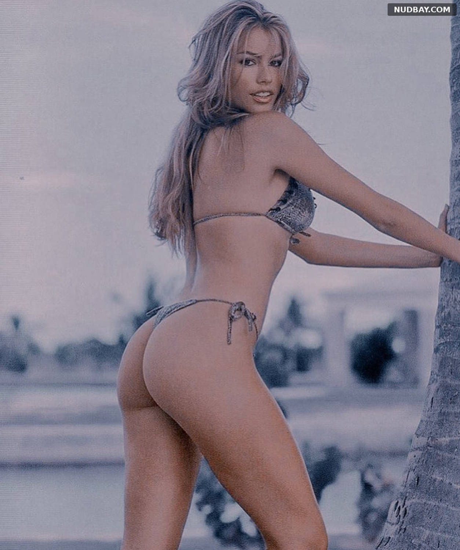 Sofia Vergara wearing a bikini