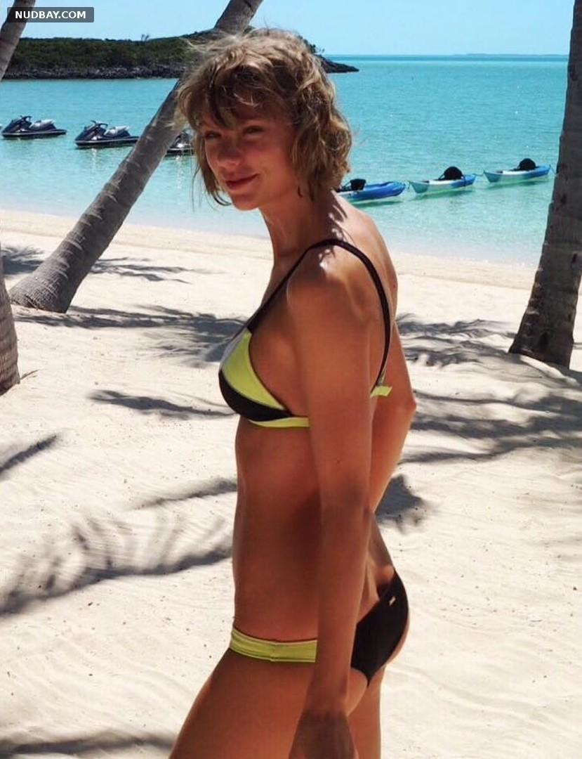 Taylor Swift sexy in bikini Feb 15 2016