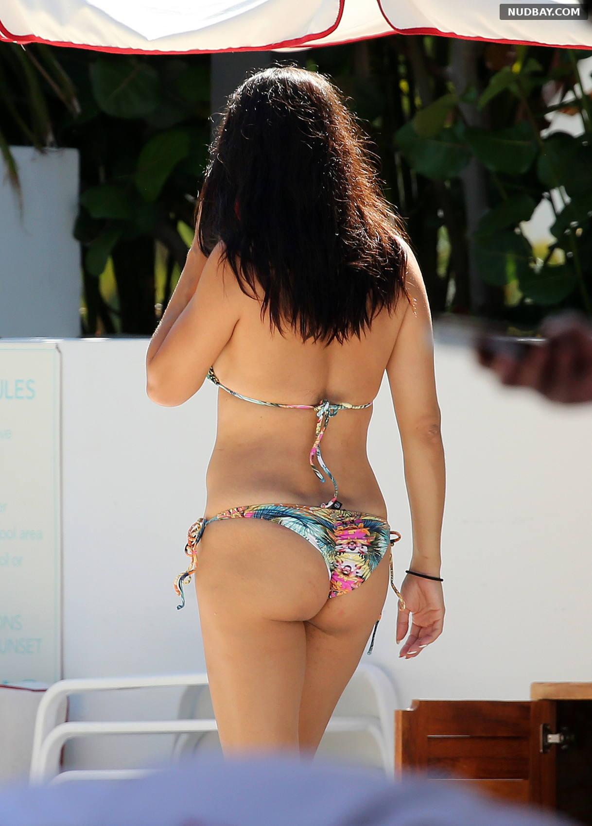 Adriana Lima in Bikini on the beach in Miami Aug 13 2019