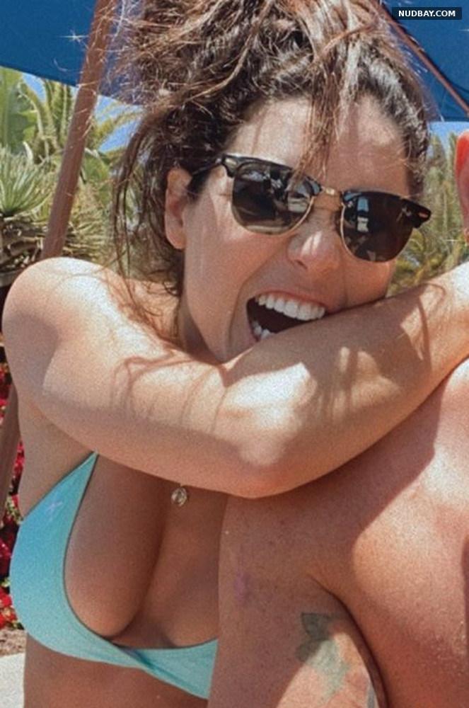 Ali Cobrin wears a bikini May 20 2021
