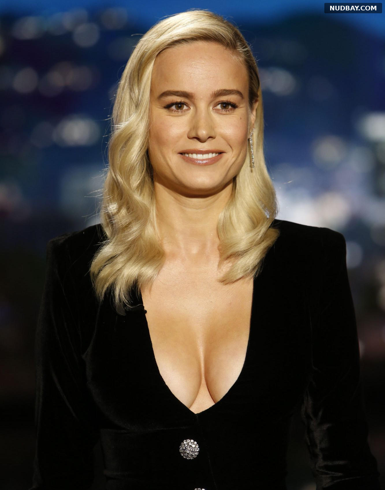 Brie Larson At Jimmy Kimmel Live in Los Angeles Dec 17 2019