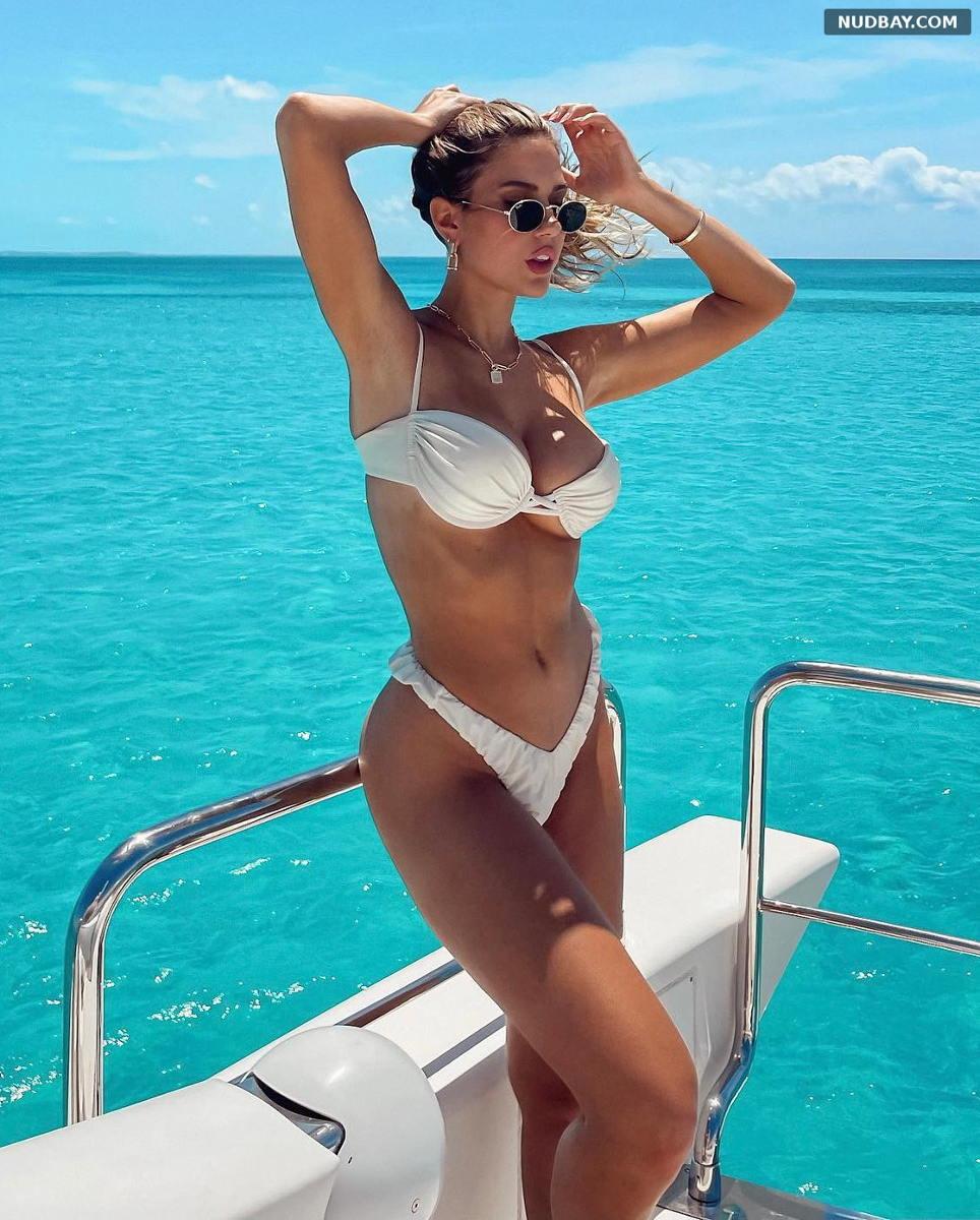 Kara Del Toro in Bikini on a yacht May 15 2021