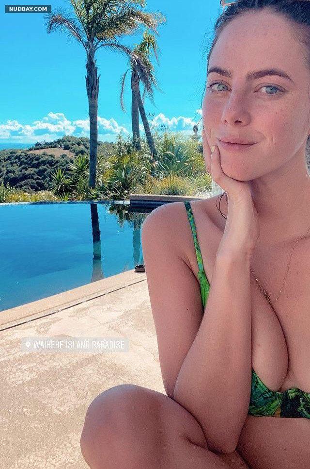 Kaya Scodelario boobs in bikini