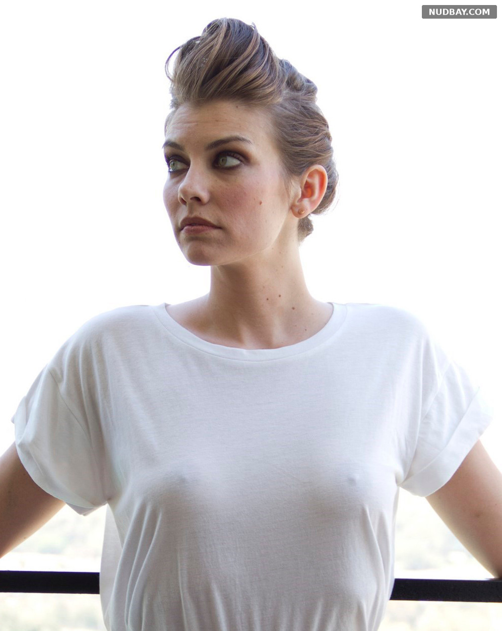 Lauren Cohan See Thru photoshoot Ladygunn Magazine