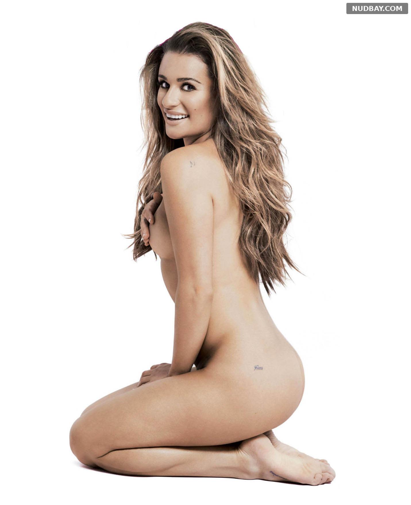 Lea Michele nude in Women's Health September 2016