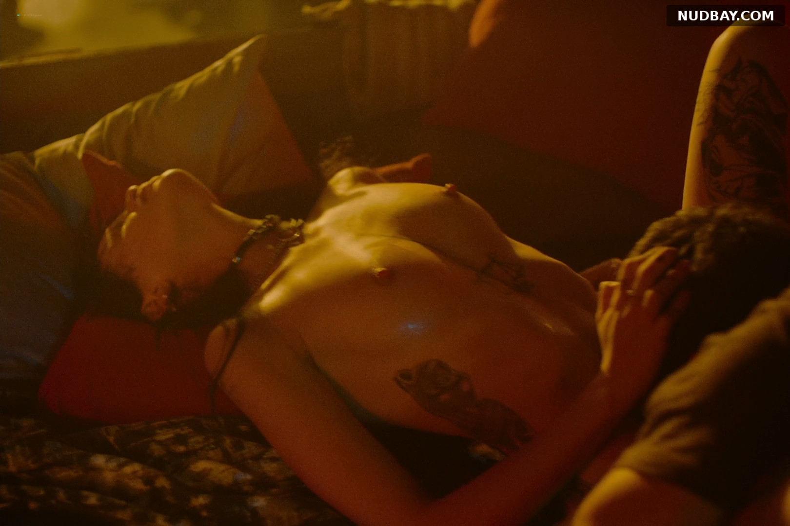 Milena Smit nude in Cross the Line (2020)