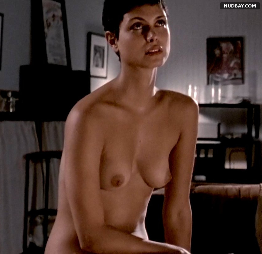 Morena Baccarin nude in Death in Love (2008)