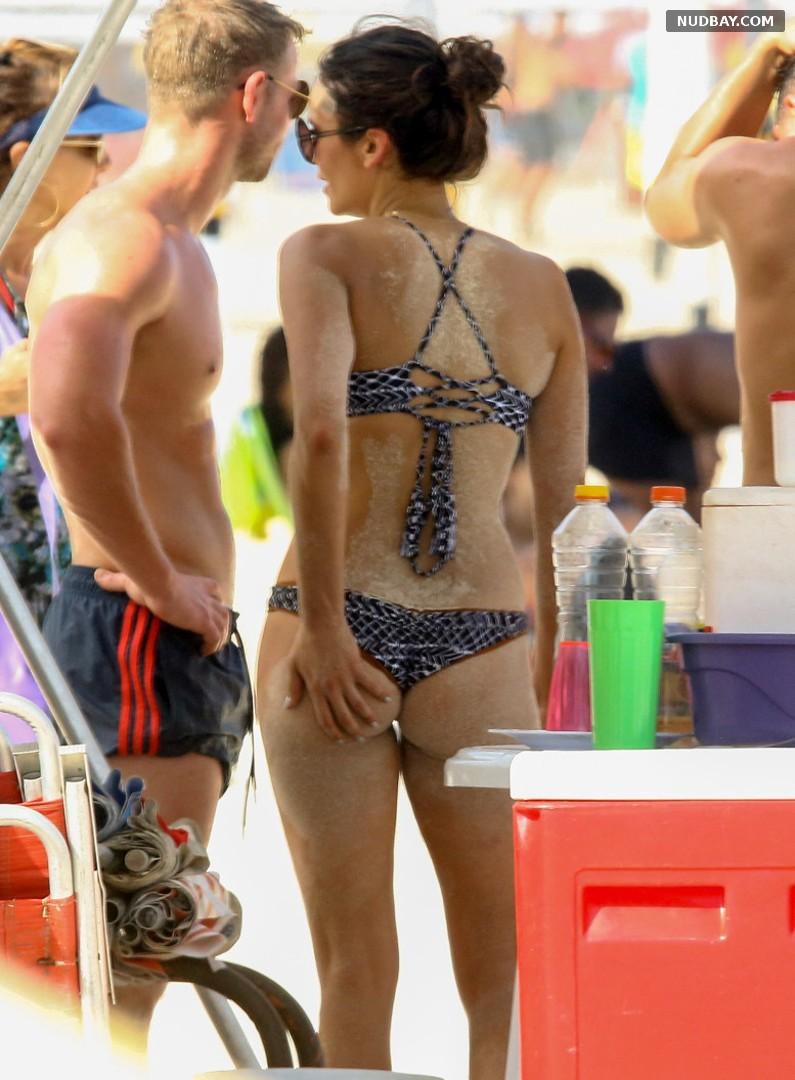 Nina Dobrev booty at a Beach in Sao Paulo Dec 05 2016