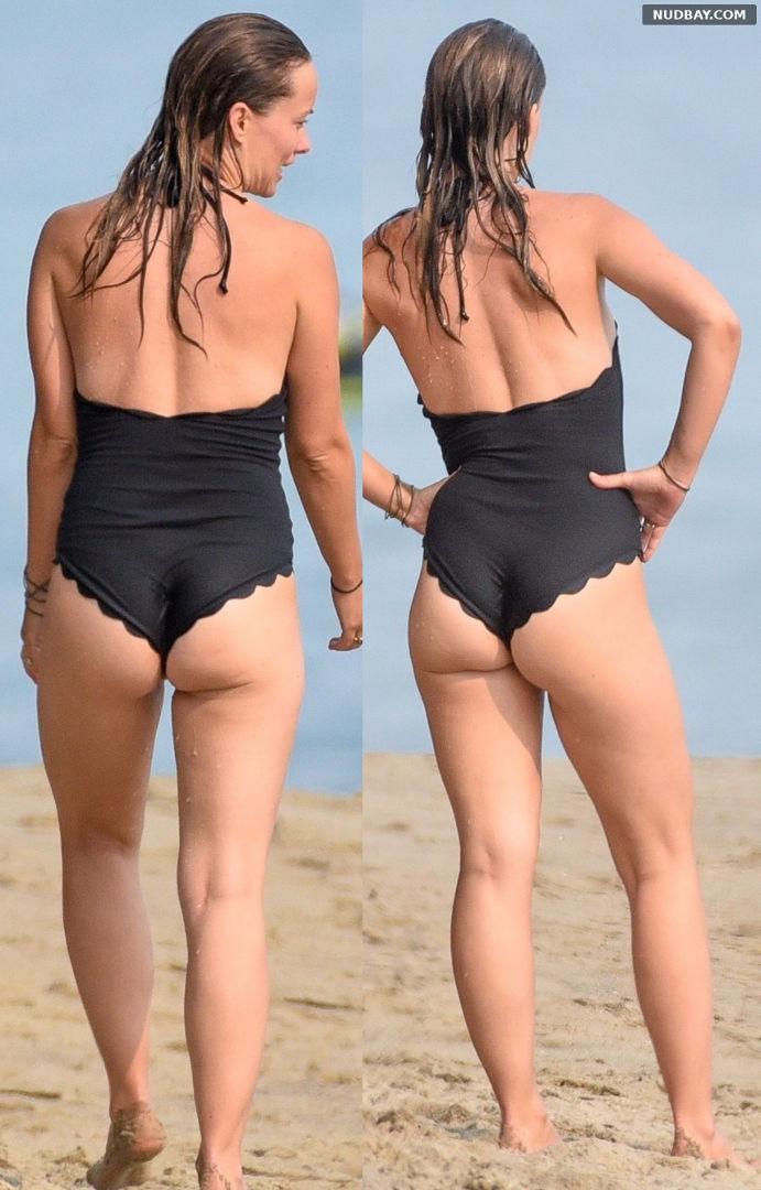 Olivia Wilde Booty On the beach in Malibu Sep 09 2020 1