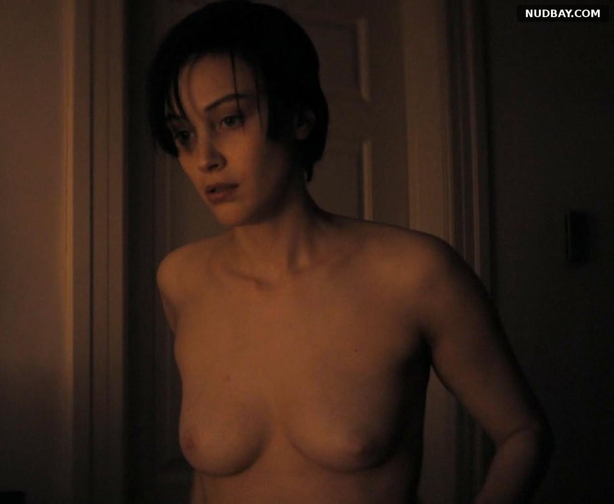 Sarah Gadon nude in Octavio Is Dead (2018)