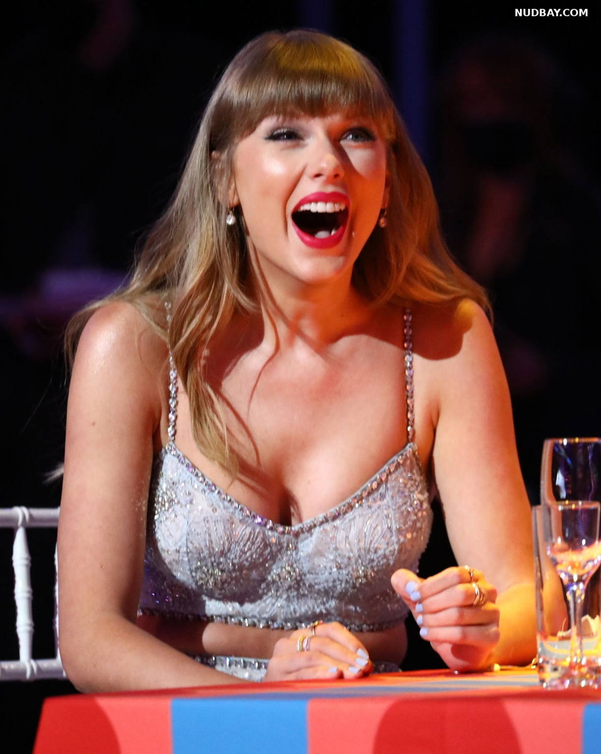 Taylor Swift boobs The BRIT Awards 2021 in London