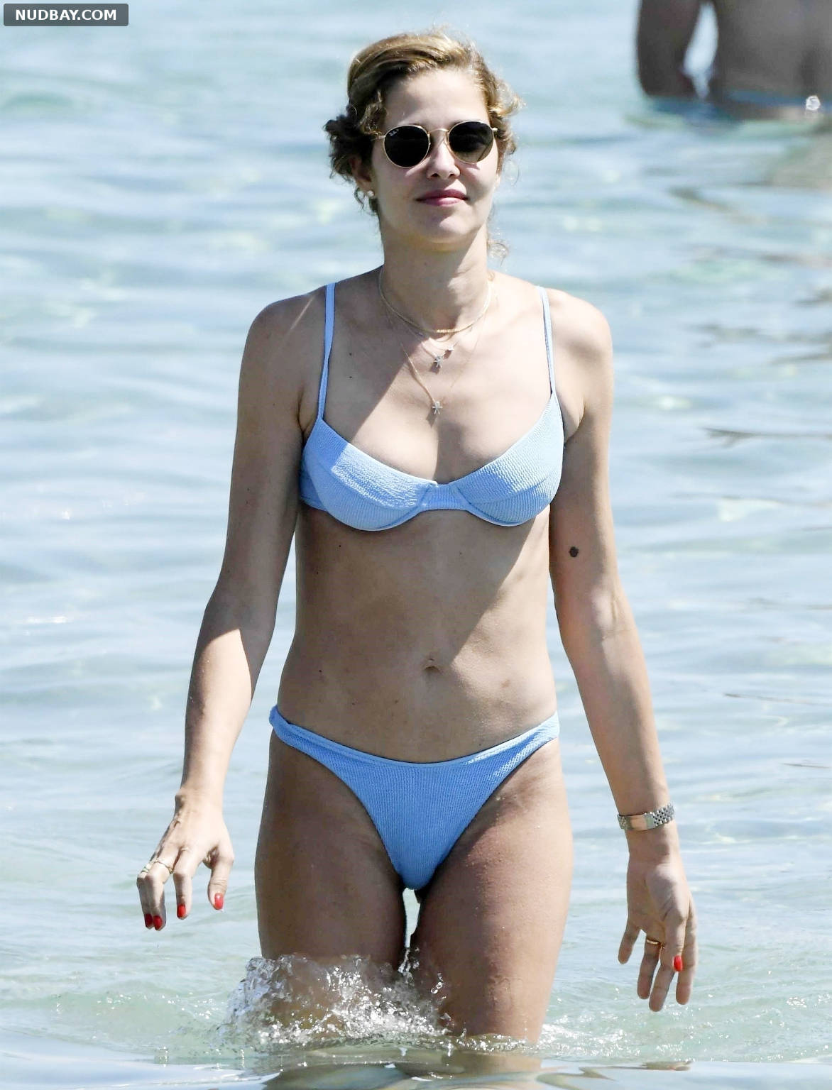 Ana Beatriz Barros at the beach while on holiday in Mykonos Jun 18 2021