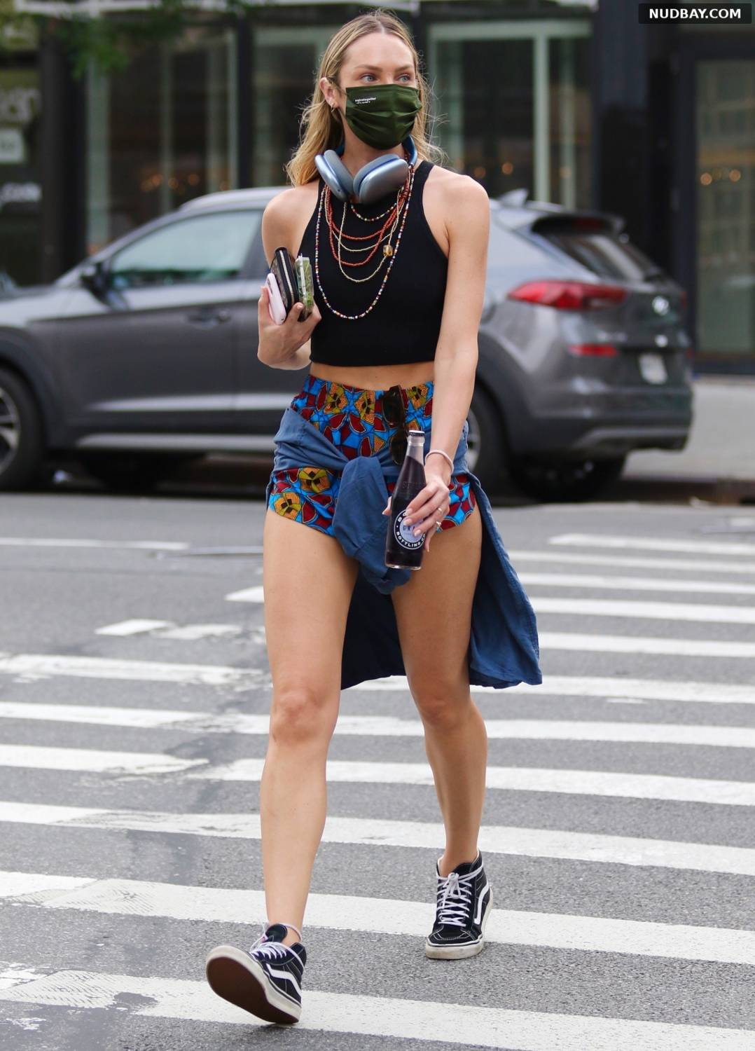 Candice Swanepoel out in New York Jun 07 2021
