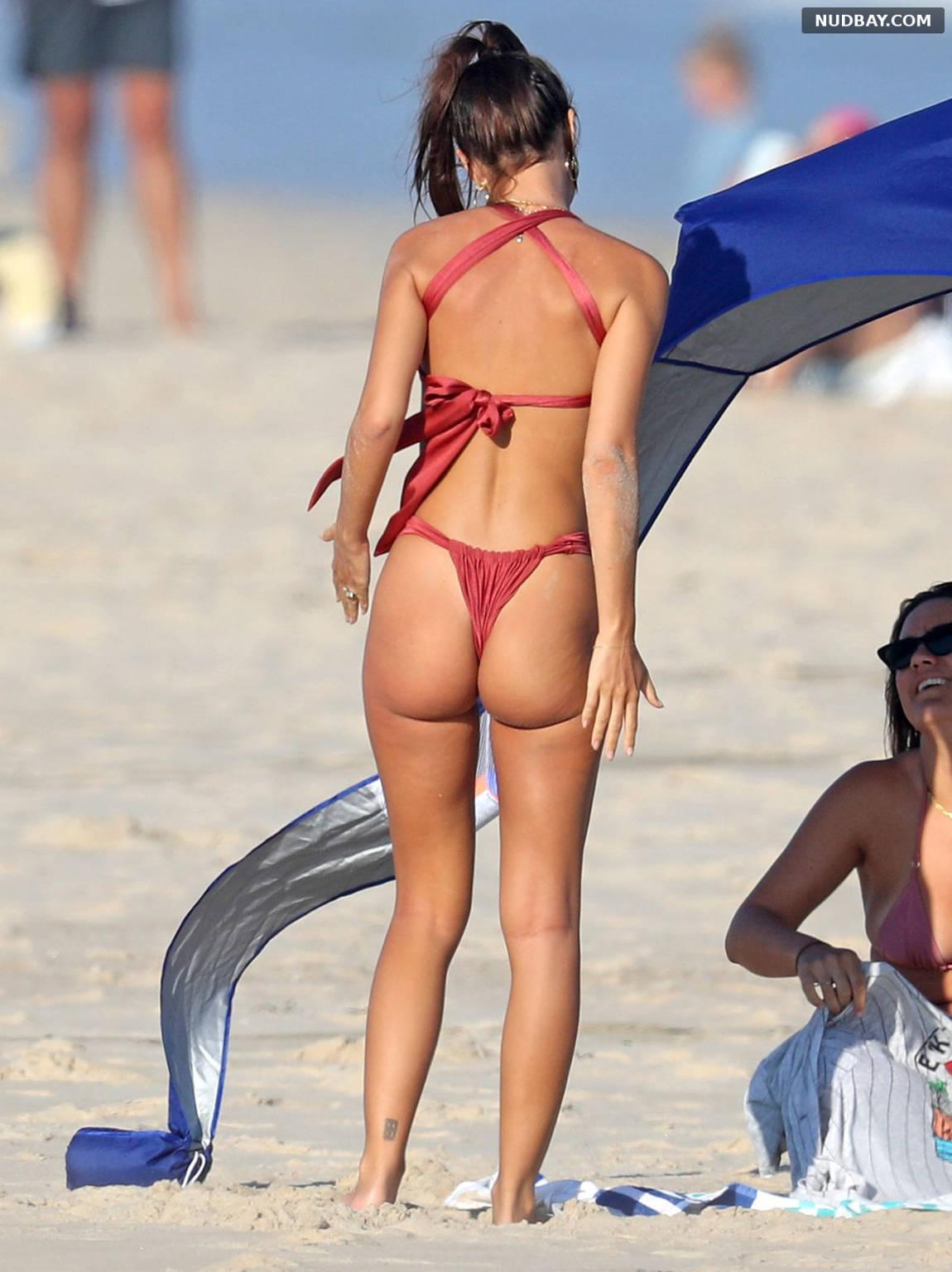Emily Ratajkowski Ass on the beach in The Hamptons Aug 05 2020