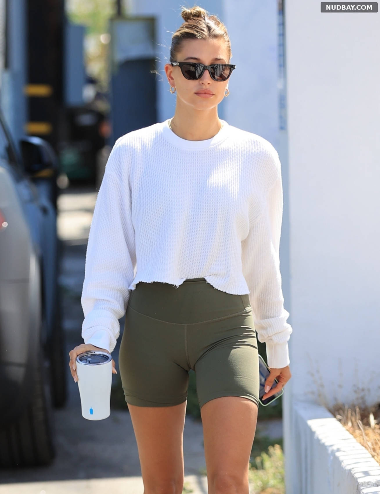Hailey Baldwin after leaving a Pilates class in West Hollywood Jun 10 2021