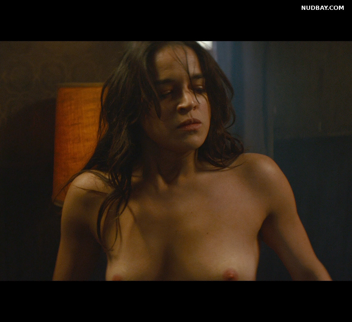 Michelle Rodriguez nude boobs The Assignment (2016)