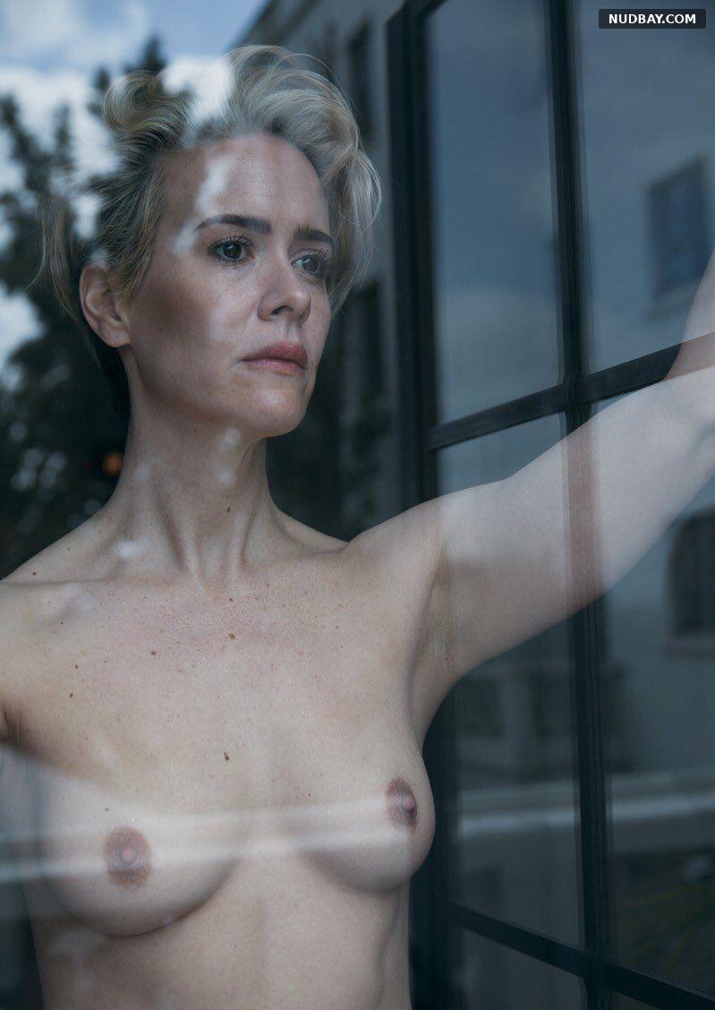 Sarah Paulson Nude W Magazine August 2016