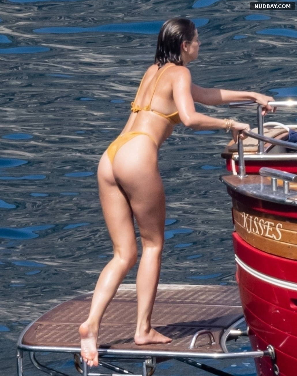 Taylor Marie Hill Ass on vacation in Positano Jun 28 2021