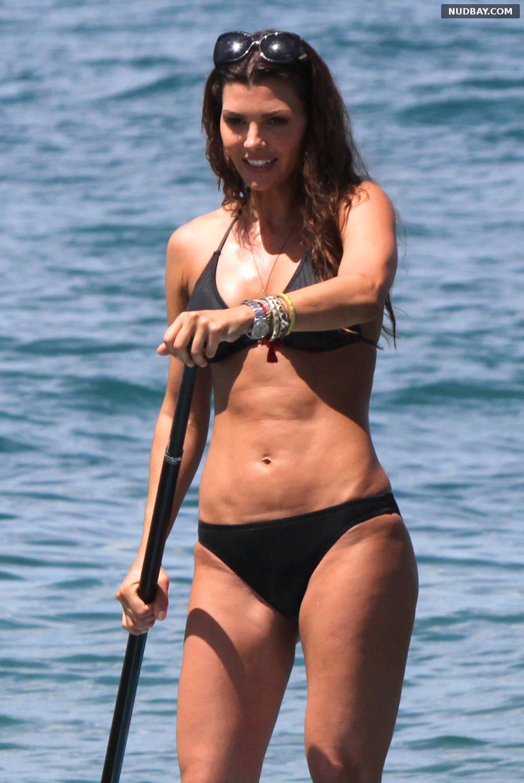 Ali Landry on vacation in bikini on the beach of Hawaii Sep 28 2012