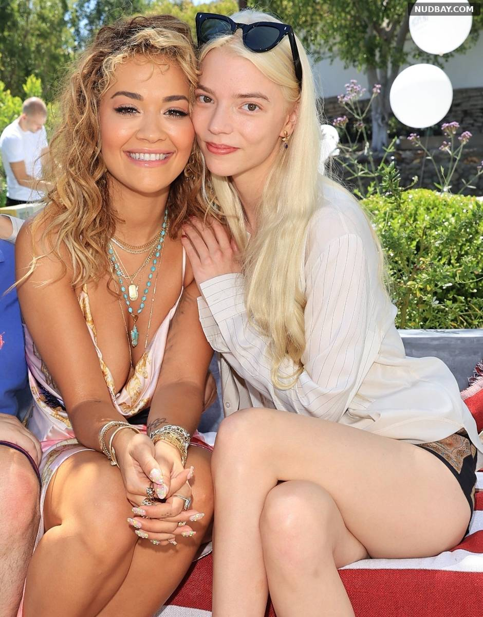 Anya Taylor-Joy Leggy 4th of July Barbecue party in Los Angeles Jul 04 2021