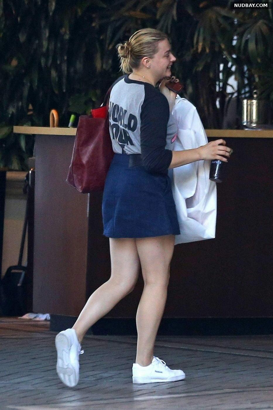 Chloe Grace Moretz arrives at The Four Seasons in Beverly Hills California Jul 23 2018