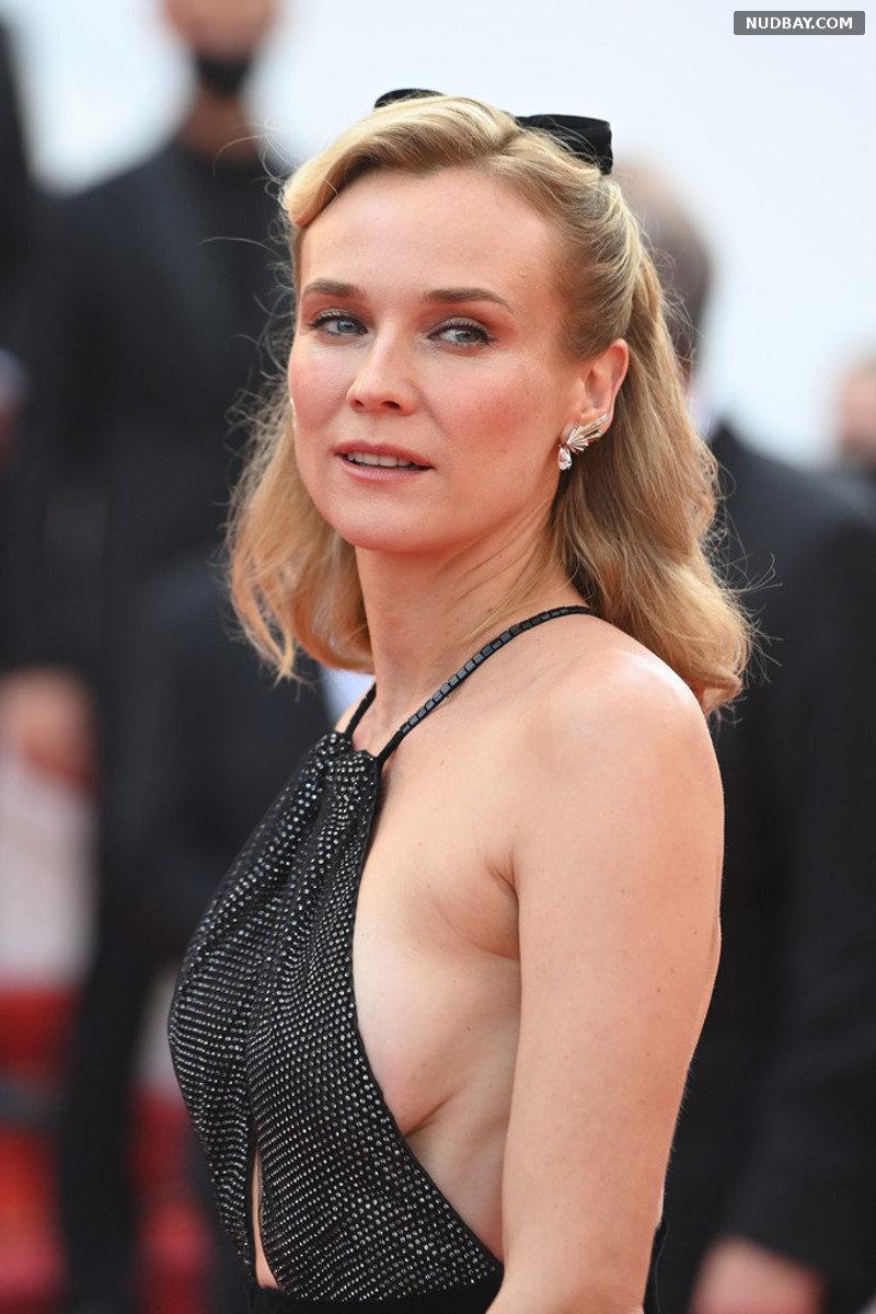 Diane Kruger boobs 74th Cannes Film Festival Jul 07 2021