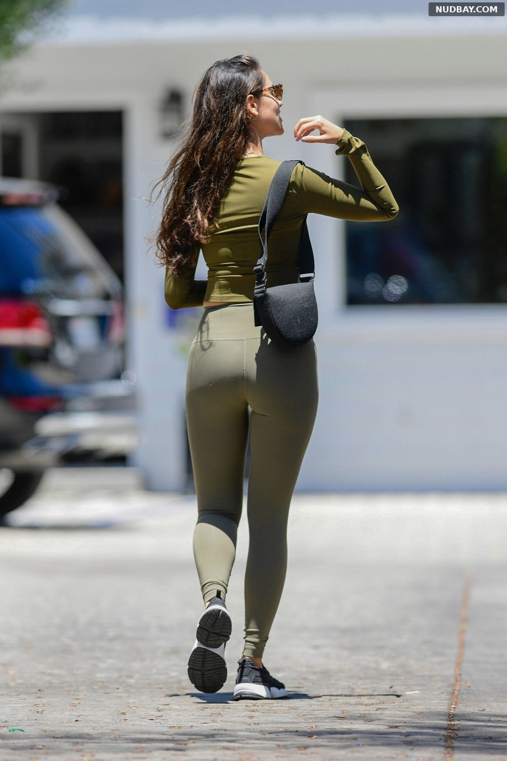 Eiza Gonzalez Ass Treats herself to a spa day in West Hollywood Jul 07 2021