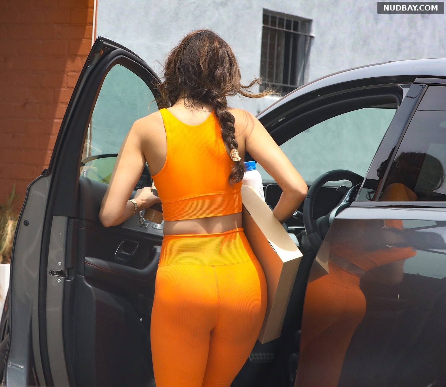 Eiza Gonzalez Booty Visits a friends home in West Hollywood Jun 29 2021