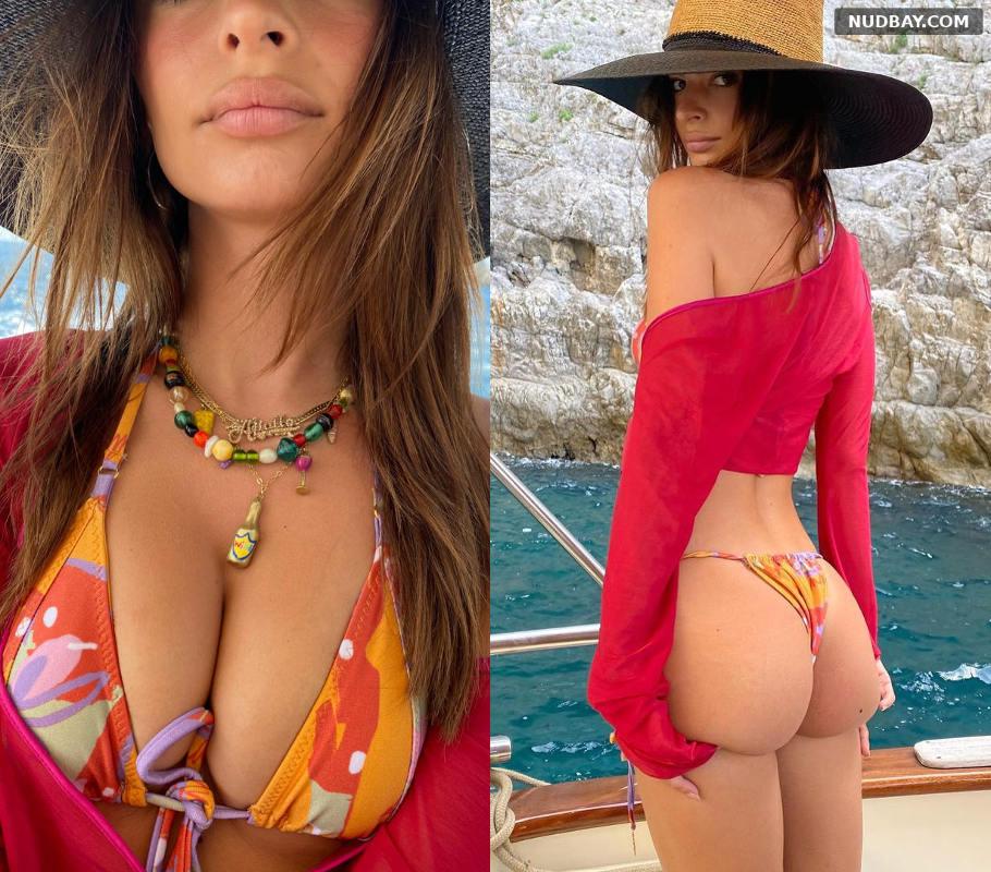 Emily Ratajkowski wearing a bikini Jul 28 2021 1