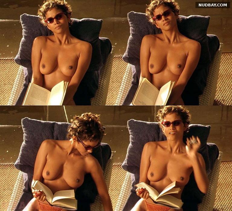 Halle Berry nude boobs Swordfish (2001) 1