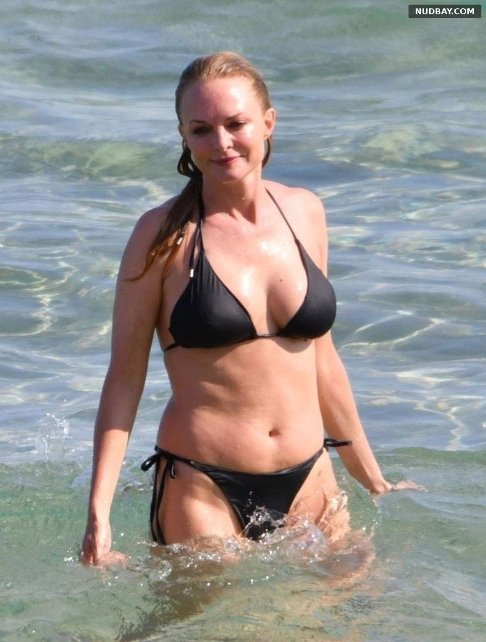 Heather Graham Wearing Bikinis in Sardinia Jul 22 2021