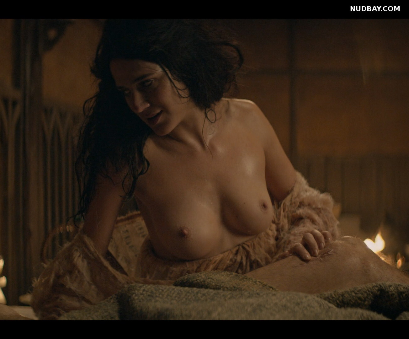Imogen Daines nude boobs in The Witcher S01 (2019)