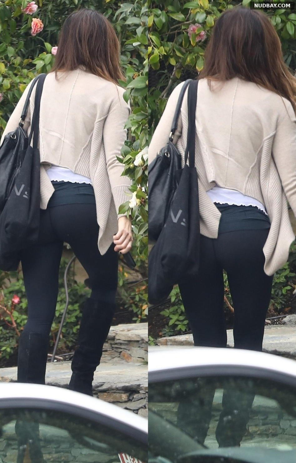 Kate Beckinsale Ass Arriving back home in LA March 19 2019