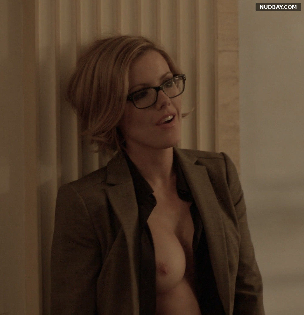 Kathleen Robertson nude in Boss S1 (2012)