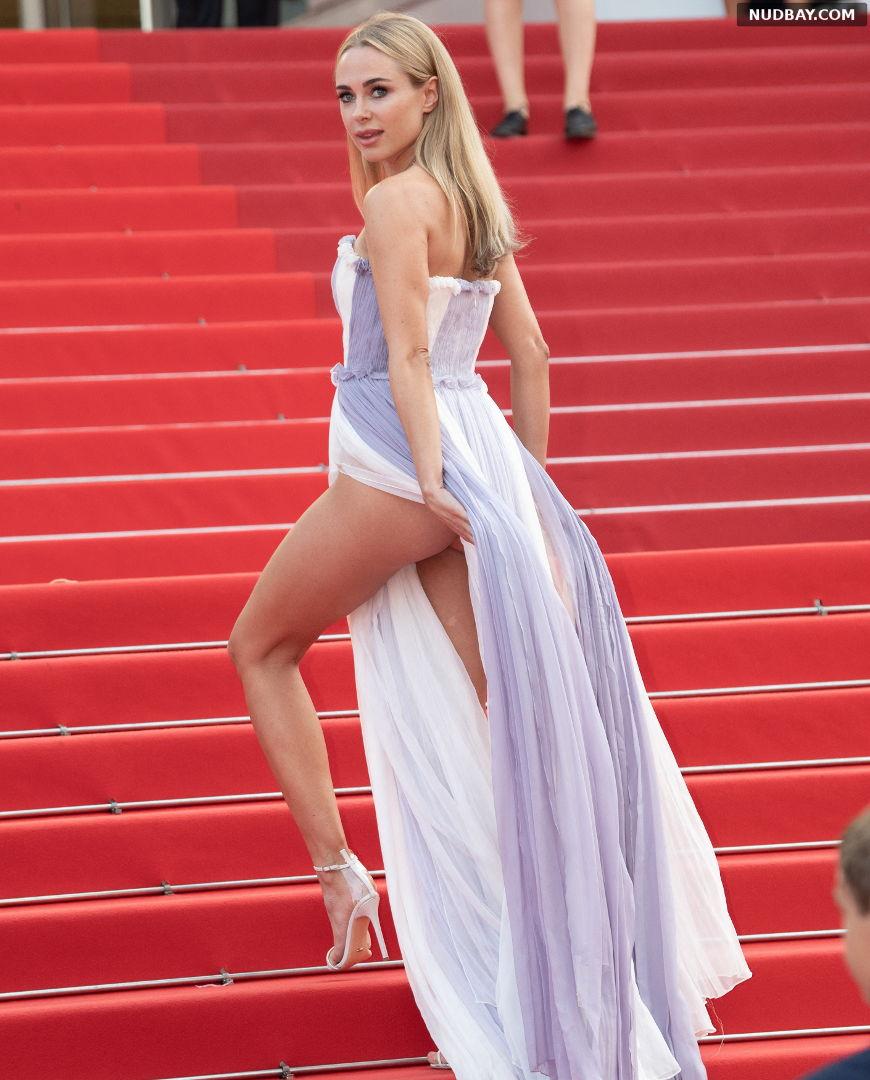 Kimberley Garner Upskirt Ass 74th Cannes Film Festival Jul 15 2021 1
