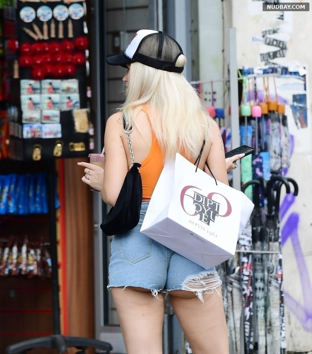 Lottie Moss Ass Out and about in Notting Hill Jul 14 2021